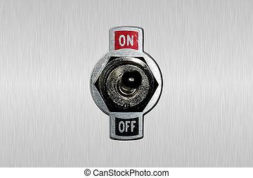 Toggle Switch - Photo of a Toggle Switch