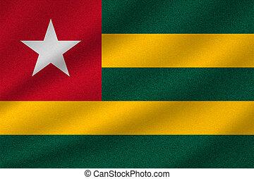togo, drapeau national