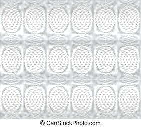 toile, étoiles, rhombs, seamless, fond, blanc, texture.