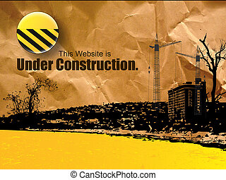 toile, construction