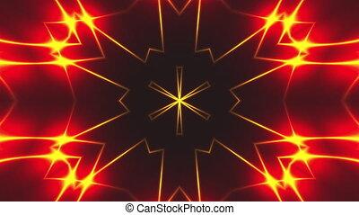 toile de fond, fractal, lumière, résumé, numérique, 3d, rendre, arrière-plan.