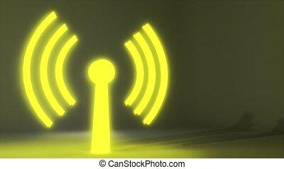 toile, réseau, logo, wifi, wi, connexion sans fil, internet,...