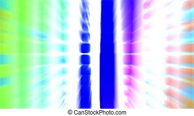toile, rayons, bloc, bleu, informatique, lumière