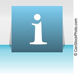 toile, sybmol, bouton, information, signe information, conception, symbole, lettre