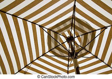 toile, umbrella., sous