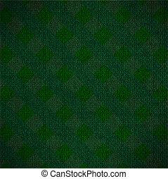 toile, vert, fond