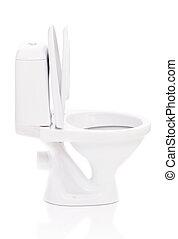 Toilet bowl - New toilet bowl isolated on white background