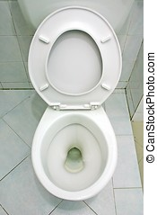 Toilet Bowl - White toilet bowl