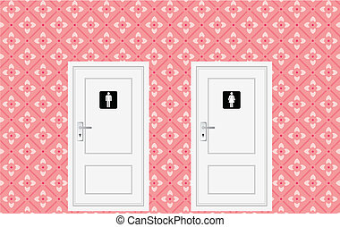 toilet, deuren