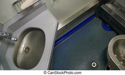 Toilet in a Train Carriage