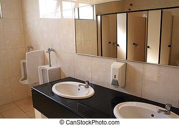 Toilet interior