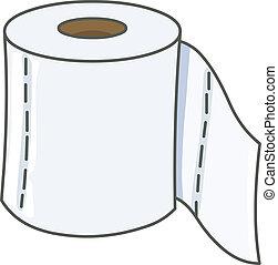 Toilet paper - Vector toilet paper