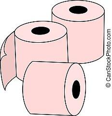 toilet paper design - Creative design of toilet paper design