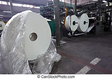 toilet paper tissue manufacturing industry