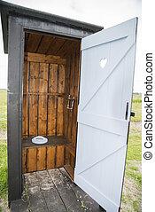 toilette, extérieur