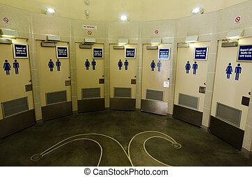 toiletten, publiek