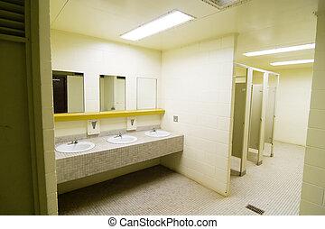 toilettes, public