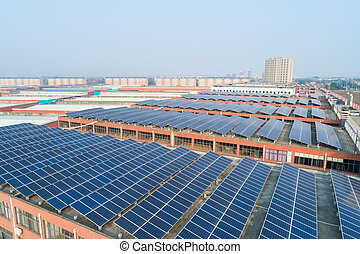 toit, énergie solaire