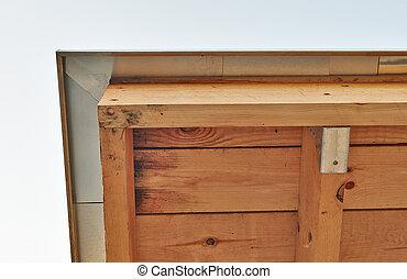 Nouveau lucarnes toit for Construction bois zinc