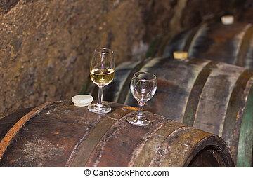 tokaj, sótanos, vino
