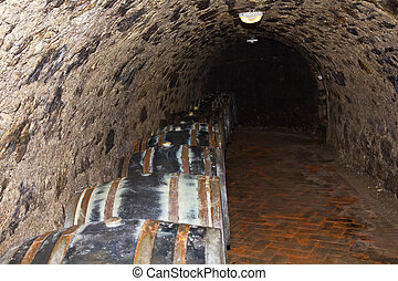 Tokaj wine cellars