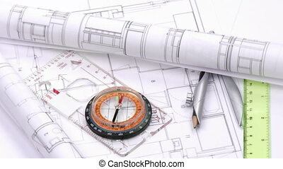 tokarski, plany, wysoki, projektować, narzędzia, prospekt
