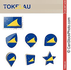 Tokelau Flag Set, Flag Set #236