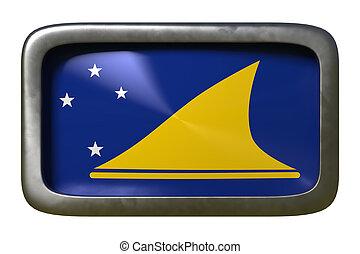 Tokelau flag sign