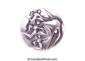 tokyo, 1964, jeux olympiques, participation, médaille, obverse, kouvola, finlande, 06.09.2016.