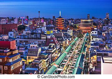 Tokyo at Asakusa