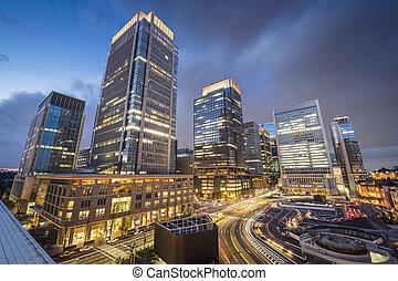 Tokyo at Marunouchi