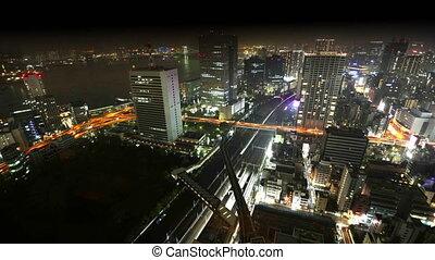 Tokyo Bay area skyline