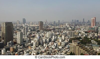 Tokyo City - time-lapse