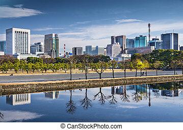 Tokyo Cityscape in Marunouchi District