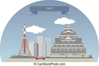 Tokyo, Japan. Capital and largest city of Japan, most...