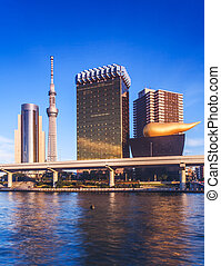 tokyo riverside landmark building - tokyo riverside l