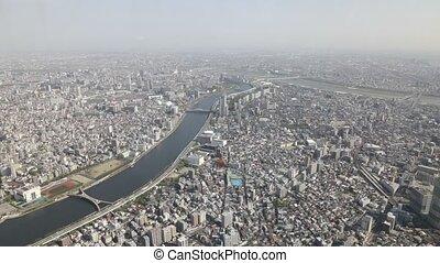Tokyo skyline Sumida