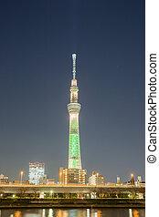 Tokyo skytree Tower at dusk
