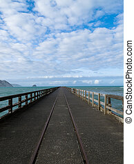 Tolaga Bay Wharf the longest pier of New Zealand - Longest...