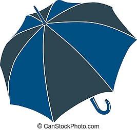 toldo, guarda-chuva, chuva