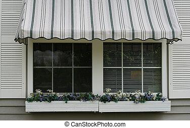 toldo, ventana
