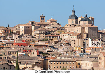 Toledo in a sunny summer day
