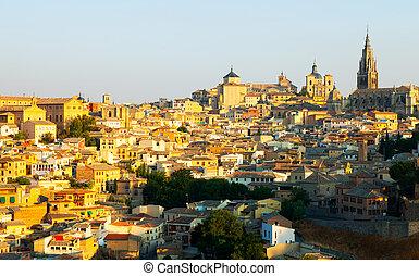 Toledo in sunny morning