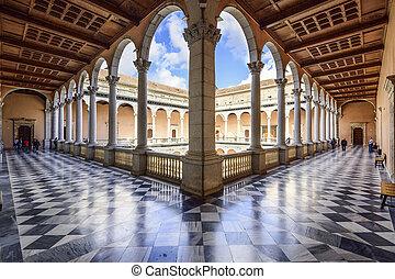 Alcazar of Toledo, Spain - TOLEDO, SPAIN - NOVEMBER 11,...