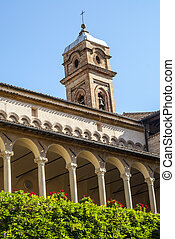 Tolentino - Church of San Nicola, cloister