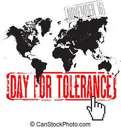 tolerância, dia