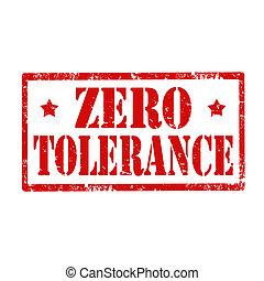 tolerance-stamp, нуль