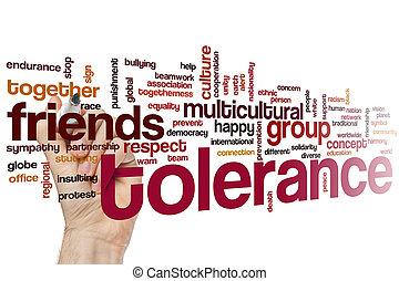 Tolerance word cloud