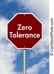 toleranz, null, stopschild