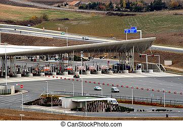 toll of motorway - null